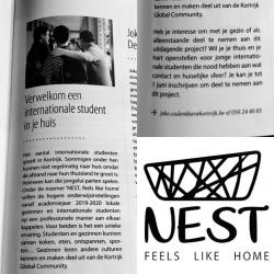 Nest in the City of Kortrijk Magazine